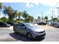 Volkswagen Jetta SE Platinum Gray Metallic photo #1