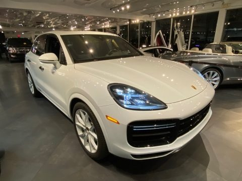 Carrara White Metallic 2019 Porsche Cayenne Turbo