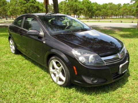 Black Sapphire 2008 Saturn Astra XR Coupe