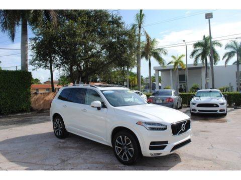 Crystal White Metallic 2019 Volvo XC90 T5 Momentum