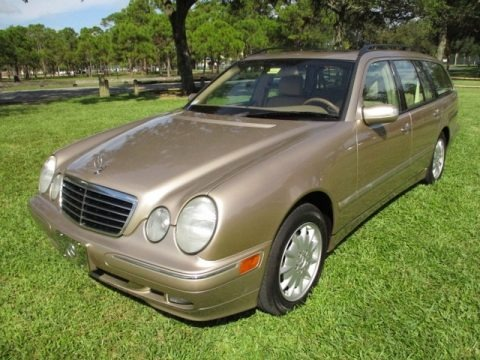 Desert Silver Metallic 2001 Mercedes-Benz E 320 4Matic Wagon