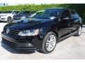 Volkswagen Jetta SEL Black photo #5