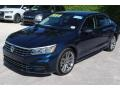 Volkswagen Passat R-Line Tourmaline Blue Metallic photo #4