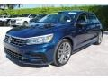 Volkswagen Passat R-Line Tourmaline Blue Metallic photo #5