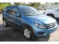 Volkswagen Tiguan S Pacific Blue Metallic photo #2
