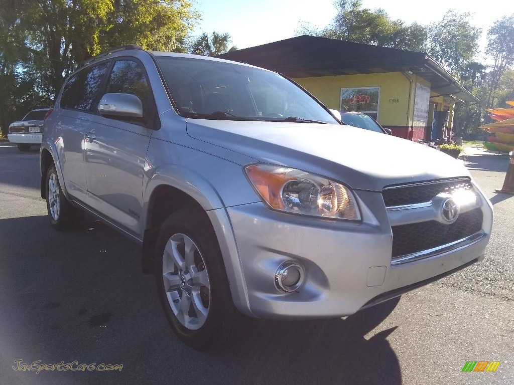 2009 RAV4 Limited 4WD - Classic Silver Metallic / Ash Gray photo #1