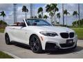 BMW 2 Series M240i Convertible Mineral White Metallic photo #1
