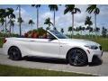 BMW 2 Series M240i Convertible Mineral White Metallic photo #2
