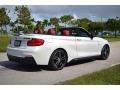 BMW 2 Series M240i Convertible Mineral White Metallic photo #4