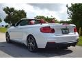 BMW 2 Series M240i Convertible Mineral White Metallic photo #7