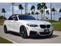 BMW 2 Series M240i Convertible Mineral White Metallic photo #10