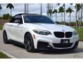 BMW 2 Series M240i Convertible Mineral White Metallic photo #11