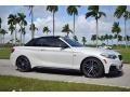 BMW 2 Series M240i Convertible Mineral White Metallic photo #12