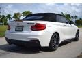 BMW 2 Series M240i Convertible Mineral White Metallic photo #15