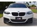 BMW 2 Series M240i Convertible Mineral White Metallic photo #21