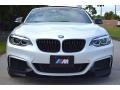 BMW 2 Series M240i Convertible Mineral White Metallic photo #22