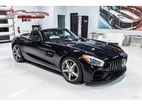 Black 2019 Mercedes-Benz AMG GT Roadster