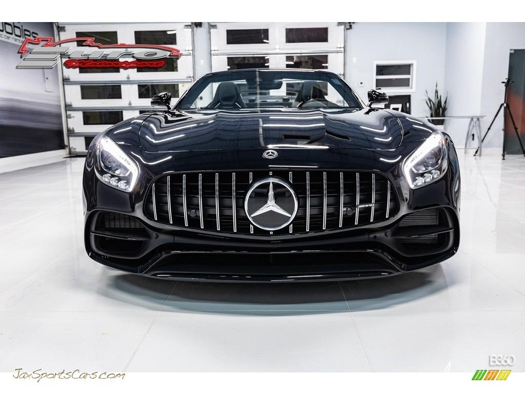 2019 AMG GT Roadster - Black / Black photo #3