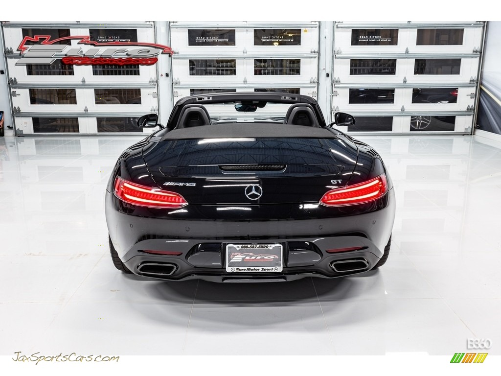 2019 AMG GT Roadster - Black / Black photo #11