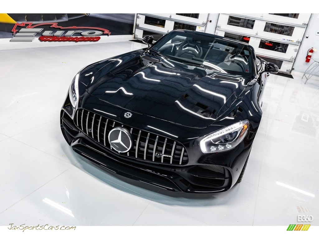 2019 AMG GT Roadster - Black / Black photo #12