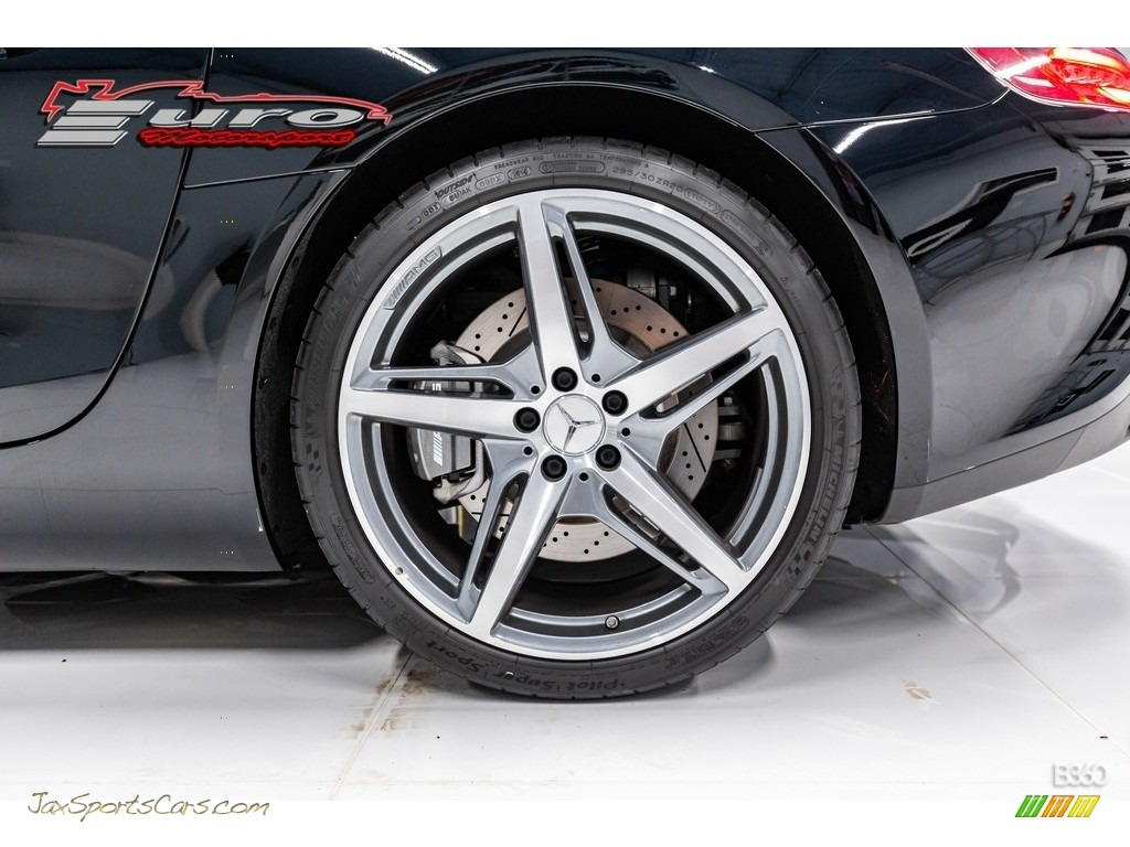 2019 AMG GT Roadster - Black / Black photo #17