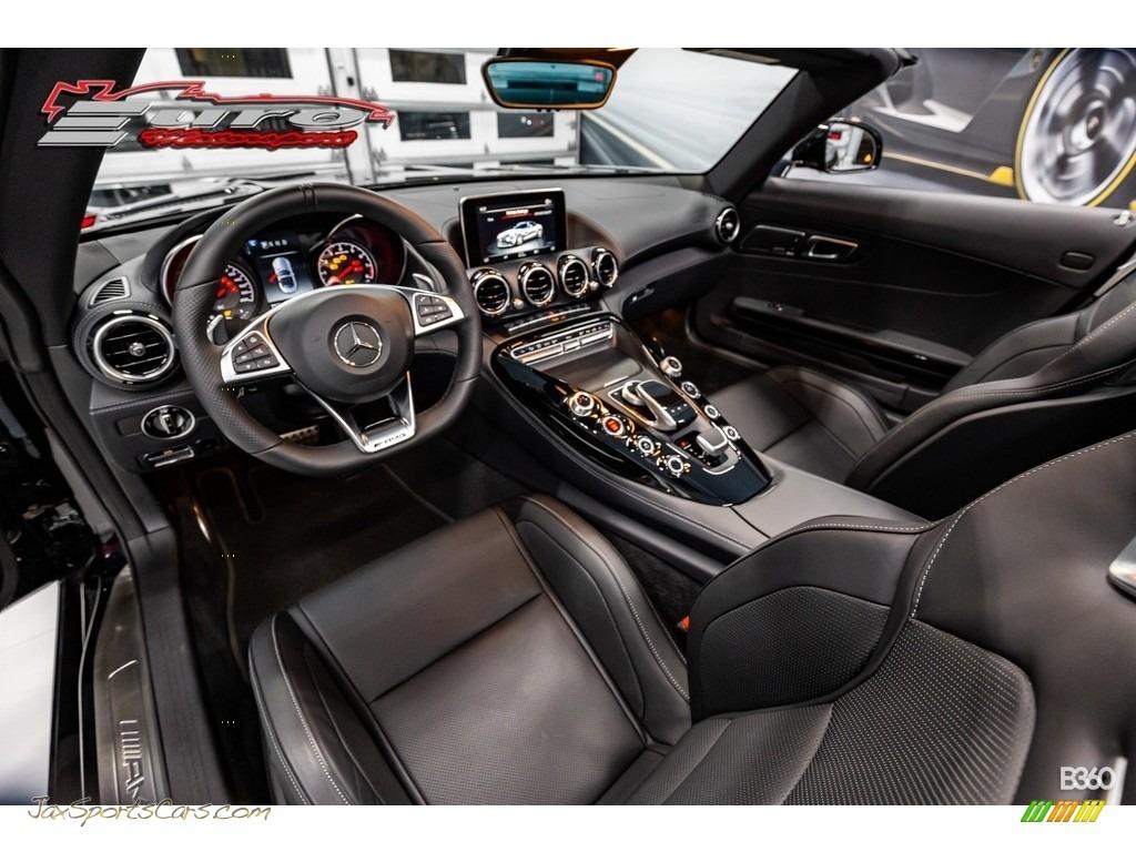 2019 AMG GT Roadster - Black / Black photo #24