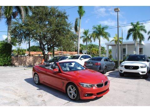 Melbourne Red Metallic 2018 BMW 4 Series 430i Convertible