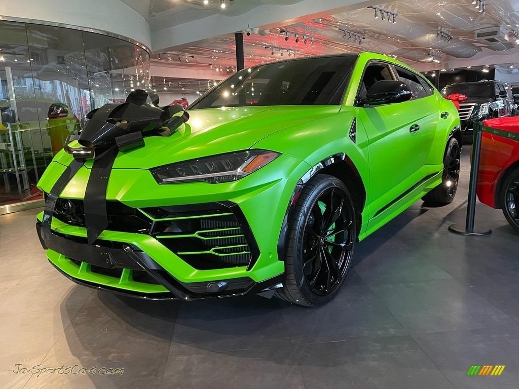 2020 Urus Pearl Capsule AWD - Verde Mantis / Verde Faunus/Nero Ade photo #1