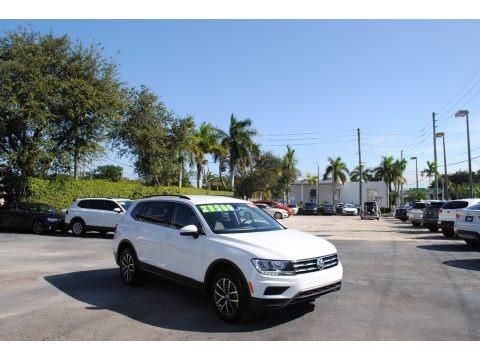 Pure White 2020 Volkswagen Tiguan SE