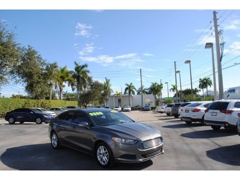 Sterling Gray 2014 Ford Fusion SE