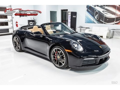 Black 2020 Porsche 911 Carrera S