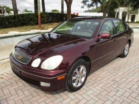 Black Cherry Pearl 2003 Lexus GS 300