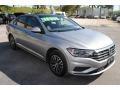 Volkswagen Jetta SE Pyrite Silver photo #2