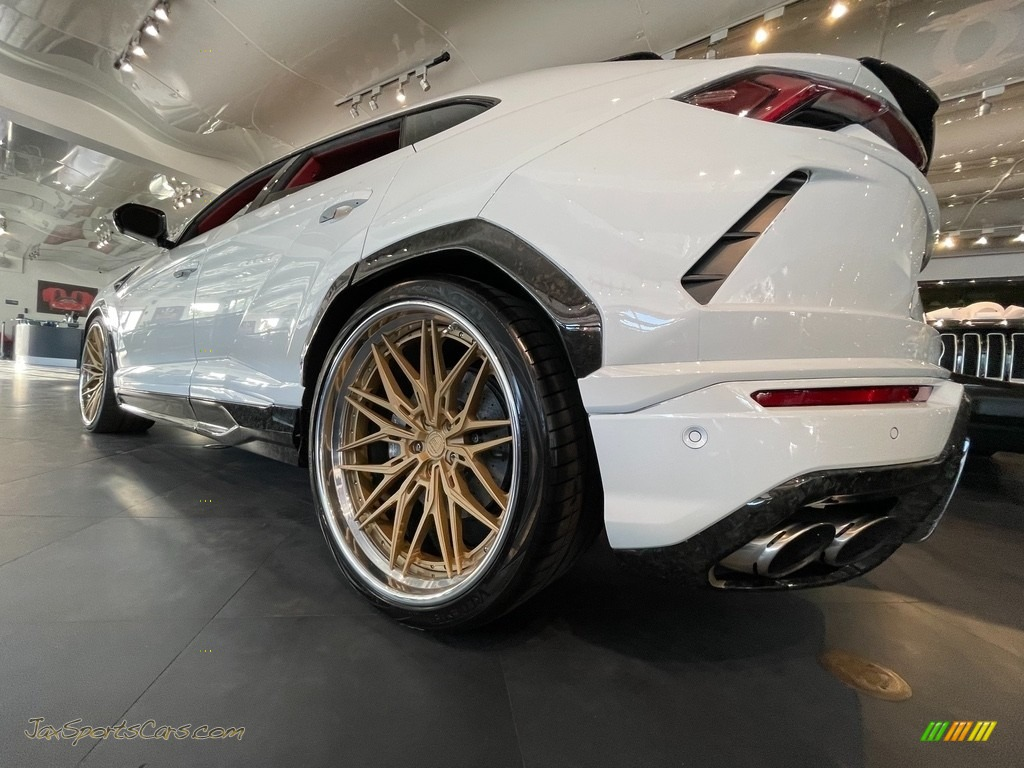 2020 Urus AWD - Bianco Icarus Metallic / Rosso Alala/Nero Ade photo #1