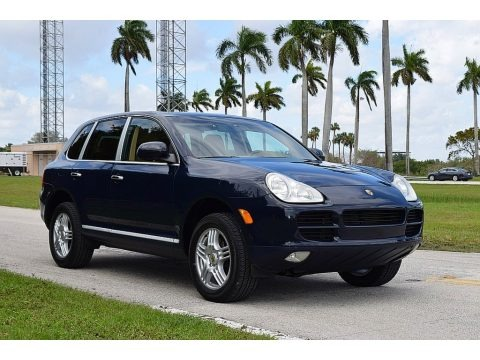 Dark Sea Blue 2006 Porsche Cayenne Tiptronic