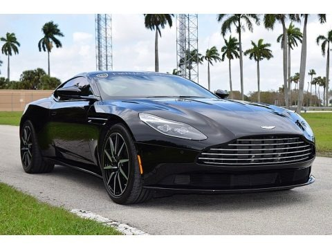Jet Black 2017 Aston Martin DB11 Launch Edition Coupe