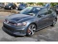 Volkswagen Golf GTI SE Dark Iron Blue Metallic photo #4