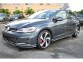 Volkswagen Golf GTI SE Dark Iron Blue Metallic photo #5