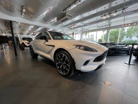 White 2021 Aston Martin DBX AWD