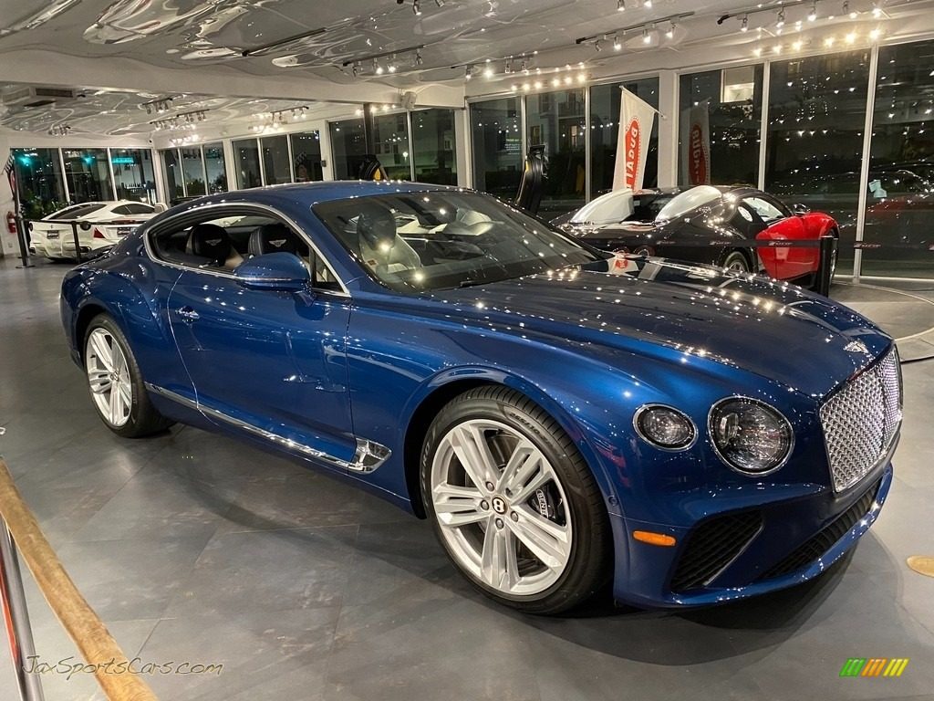 2020 Continental GT  - Marlin Metallic / Linen/Blue photo #1