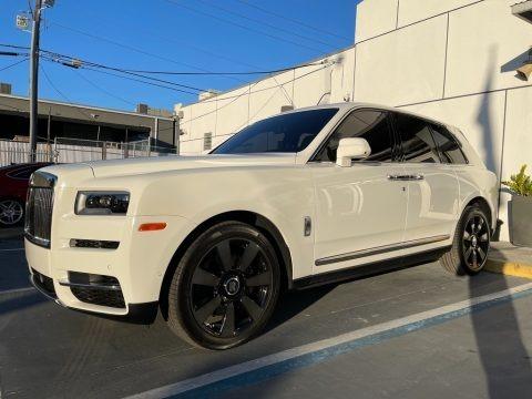 Arctic White 2019 Rolls-Royce Cullinan
