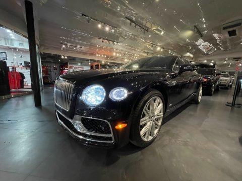 Black Crystal Metallic 2020 Bentley Flying Spur W12