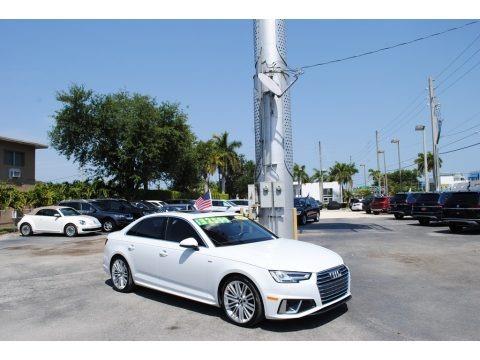Ibis White 2019 Audi A4 Premium Plus quattro