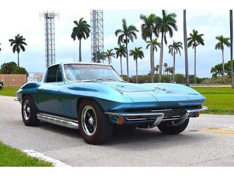 Marina Blue 1967 Chevrolet Corvette Coupe