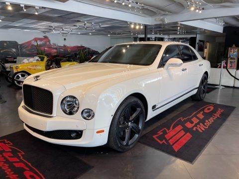Glacier White 2016 Bentley Mulsanne Speed