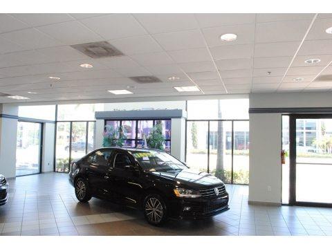 Black 2018 Volkswagen Jetta Wolfsburg Edition