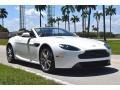 Aston Martin V8 Vantage Roadster Stratus White photo #2