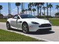 Aston Martin V8 Vantage Roadster Stratus White photo #11
