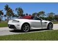 Aston Martin V8 Vantage Roadster Stratus White photo #13