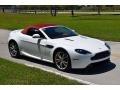 Aston Martin V8 Vantage Roadster Stratus White photo #14